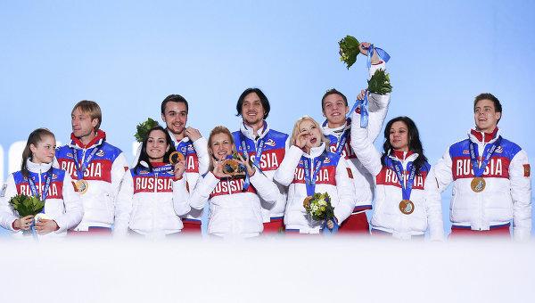 Олимпийская сборная России. Архивное фото