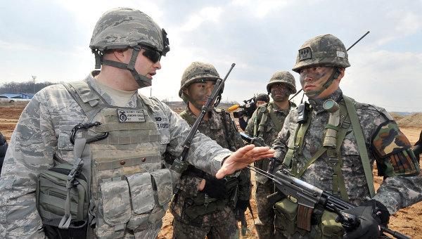 Американские и южнокорейские военные. Архивное фото