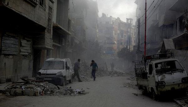 Разрушенные улицы Дамаска. Архивное фото