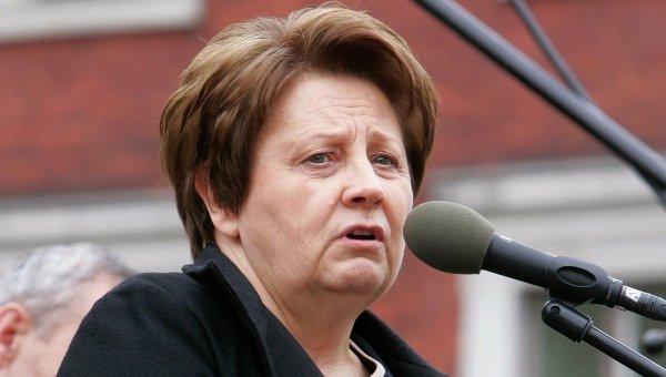 Премьер-министр Латвии Лаймдота Страуюма. Архивное фото