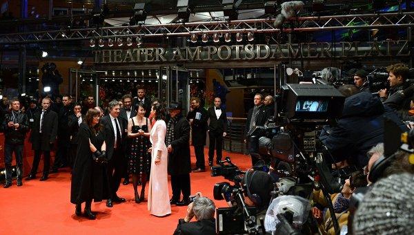 Церемония открытия Берлинского международного кинофестиваля. Архивное фото