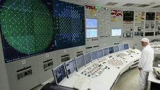 Блочный щит управления атомной электрической станции. Архивное фото