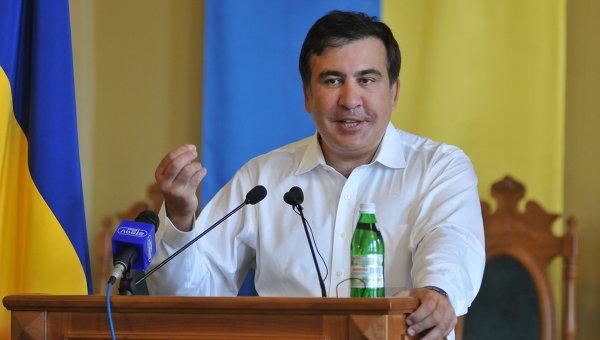 Экс-президент Грузии М.Саакашвили. Архивное фото