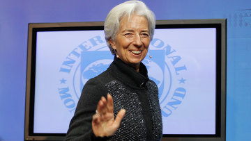 Глава МВФ Кристин Лагард. Архивное фото