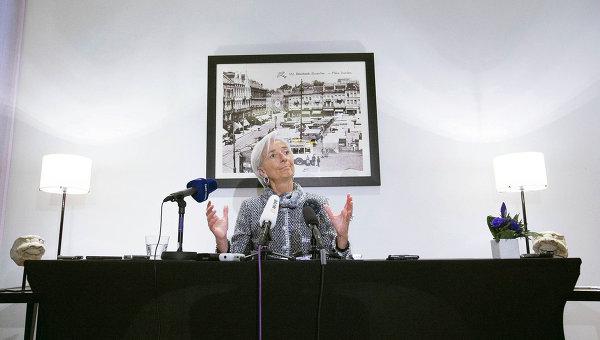 Директор МВФ Кристин Лагард