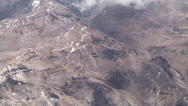 Чилийские Анды. Архивное фото