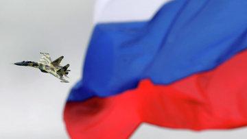 Российский истребитель СУ-35. Архивное фото