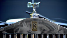 Логотип Rolls-Royce. Архивное фото