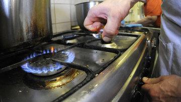Газовая плита. Архивное фото