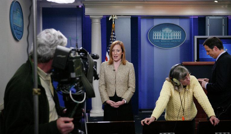 Официальный представитель Государственного департамента США Дженнифер Псаки. 2011 год