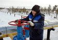 """Газопровод компании """"Газпром"""" у поселка Вынгаяхинский"""