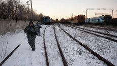 Ополченцы Луганской народной республики (ЛНР) в Чернухино. Архивное фото