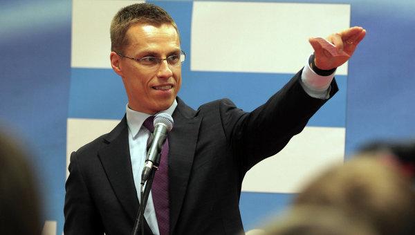 Министр иностранных дел Финляндии Александр Стубб, архивное фото