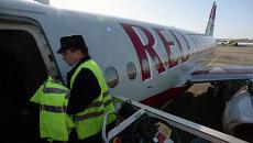 Передача в эксплуатацию самолета SSJ-100 авиакомпании Red Wings. Архивное фото