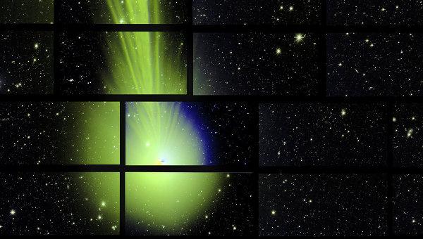 Фотография кометы Лавджоя, полученная суперкамерой DEC