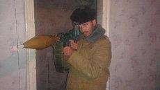 Фотография испанца, воевавшего в Донбассе