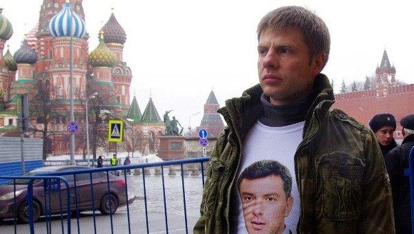 Депутат Верховной рады Алексей Гончаренко. Архивное фото