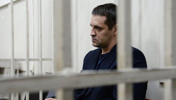 Советник губернатора Сахалинской области А.Икрамов на заседании в Басманном суде