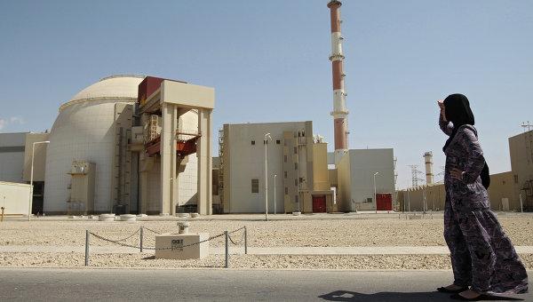 Через неделю вИране начнется строительство новых энергоблоков атомной станции повыробатыванию электричества Бушер
