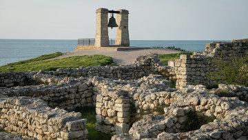 Национальный заповедник Херсонес Таврический в Севастополе. Архивное фото