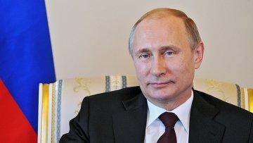 Президент РФ В.Путин. Архивное фото