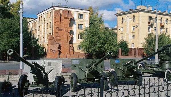 Мемориал Дом Павлова в Волгограде. Архивное фото