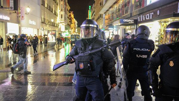Испанская полиция. Архивное фото