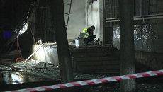 Взрывотехники и милиционеры обследовали место взрыва в жилом доме в Одессе