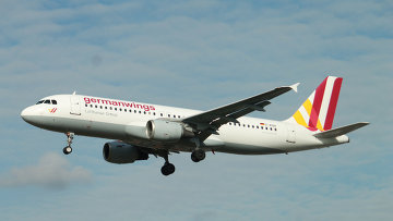 Самолет Airbus A320-231 компании Germanwings. Архивное фото