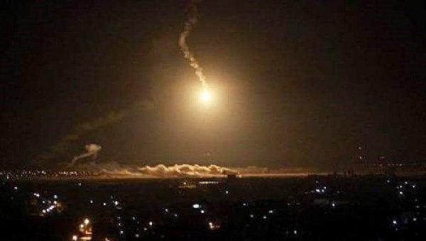 Ночной авиаудар по столице Йемена городу Сане