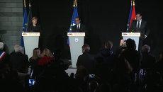 Лидеры трех стран пообещали сообща выяснить причины авиакрушения в Альпах