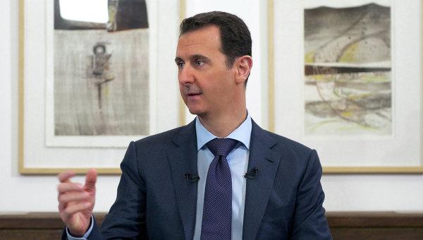 Президент Сирии Башар аль-Асад. Архивное фото