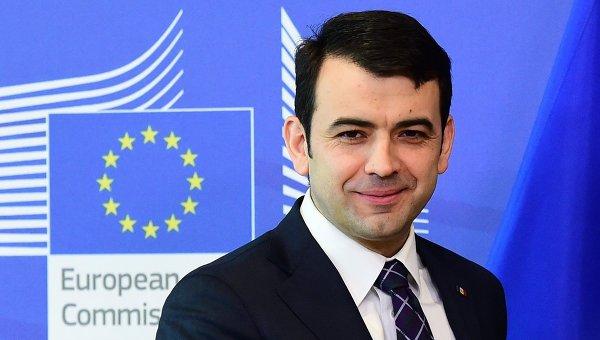 Глава правительства Молдавии Кирилл Габурич. Архивное фото