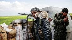 Курдский повстанец в Сирии. Архивное фото