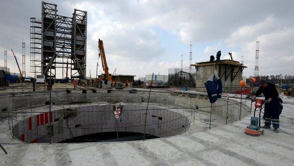 Строительная площадка на космодроме Восточный в Амурской области. Архивное фото