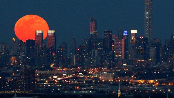 Нью-Йорк, архивное фото