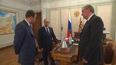 Путину показали макеты новой Ангары и корабля для лунных экспедиций