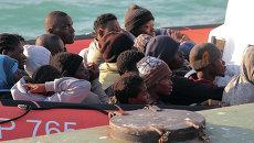Нелегальные мигранты. Архивное фото