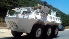 Миротворцы ООН на юге Ливана. Архивное фото