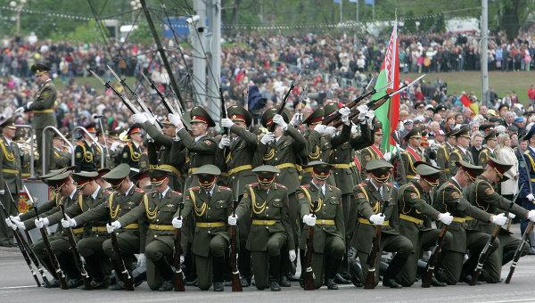 Парад Победы в Минске. Архивное фото