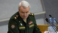 Заместитель министра обороны РФ Николай Панков. Архивное фото