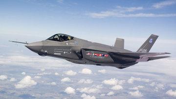 Американский истребитель Lockheed Martin F-35 Lightning II. Архивное фото