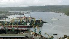 Морской порт, Североморск. Архивное фото