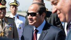 Прилет президента Египта Абдель Фатаха ас-Сиси. Архивное фото
