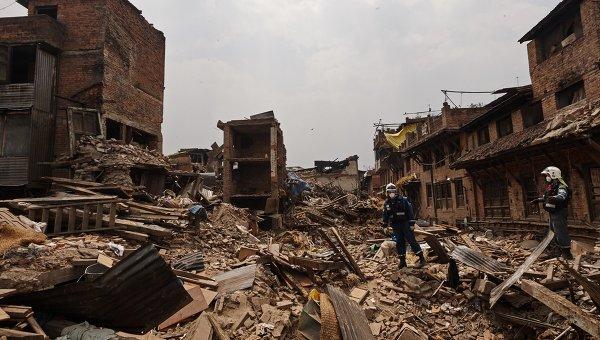 МЧС России участвует в поисково-спасательных работах в Непале. Архивное фото