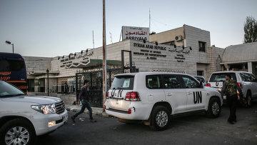 Эксперты ООН по химическому оружию в Сирии, архивное фото