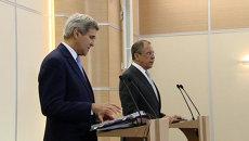 Встреча Лаврова и Керри: выполнение минских соглашений и помощь Донбассу