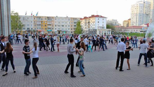Акция Вальс Победы в Белгороде