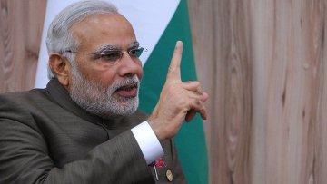 Премьер-министр Индии Нарендра Моди. Архивное фото
