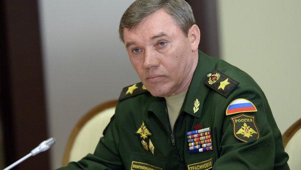Первый заместитель министра обороны РФ, начальник Генерального штаба Вооруженных Сил РФ, генерал армии Валерий Герасимов. Архивное офто